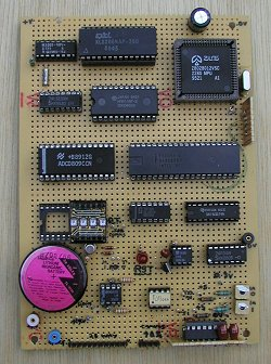 Complete Z280 system board